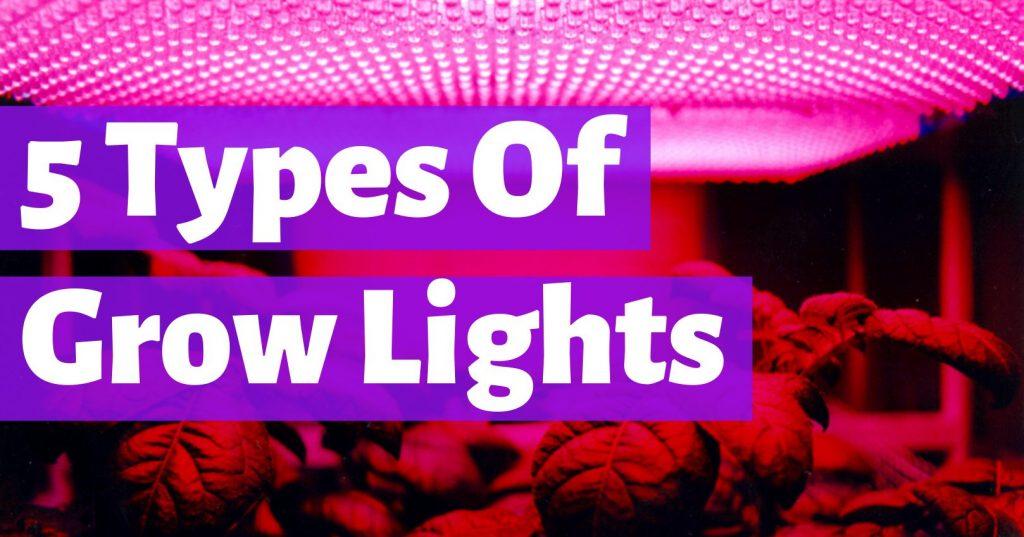 types of grow lights