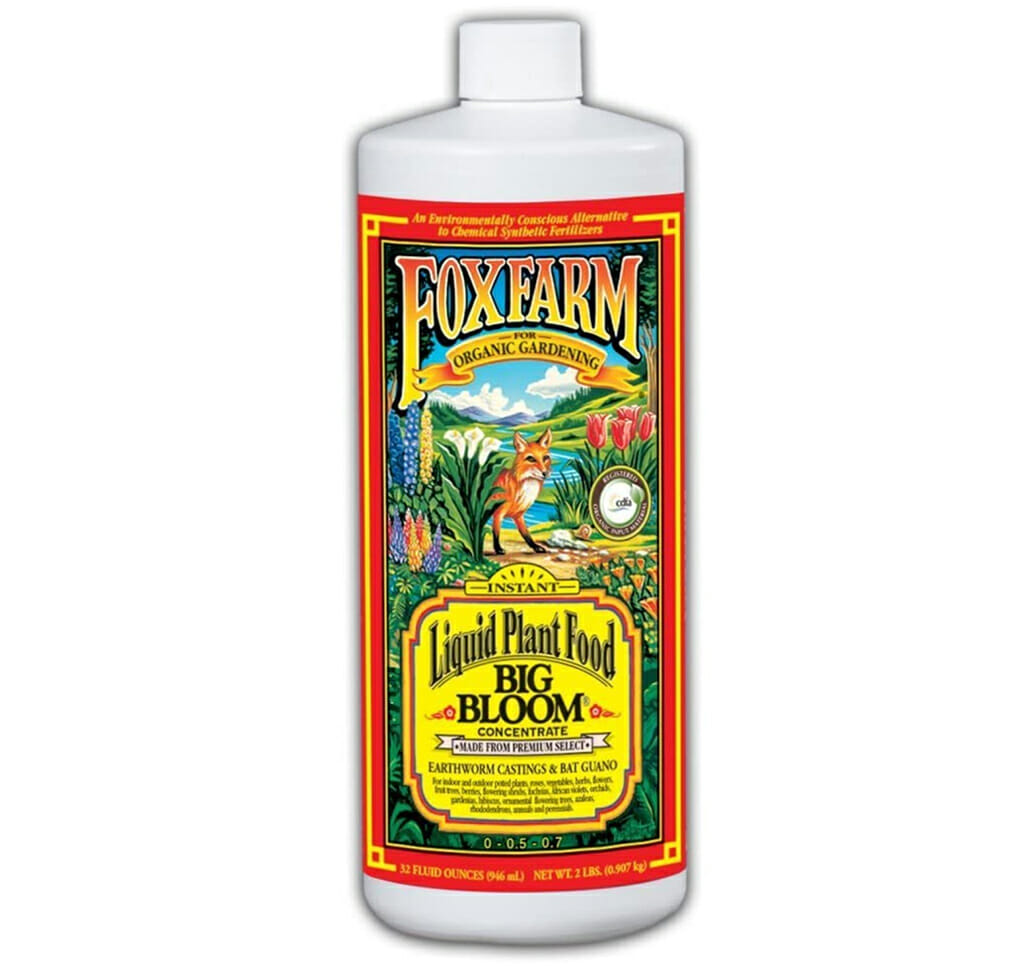 foxfarm big bloom liquid fertilizer