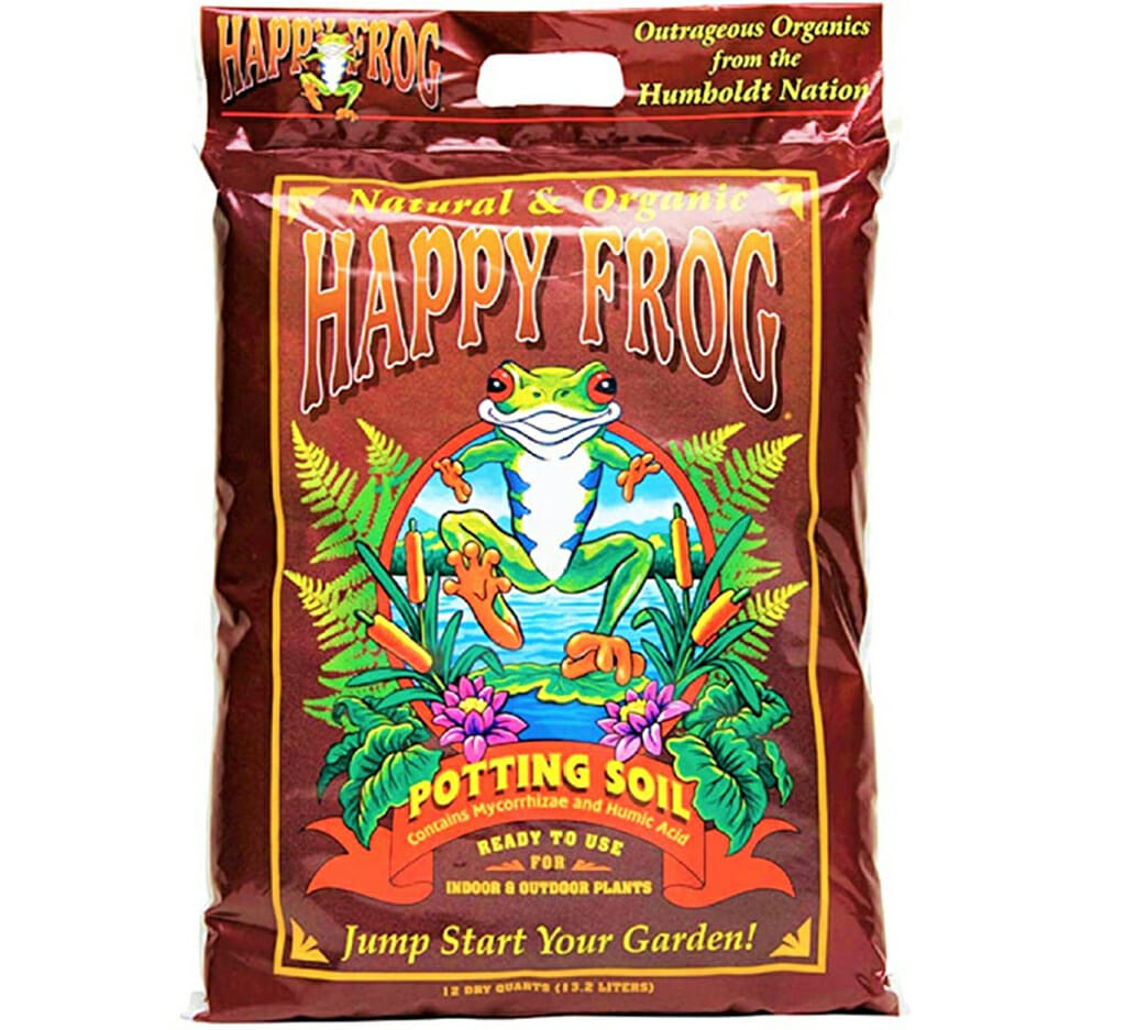 foxfarm organic happy frog potting soil