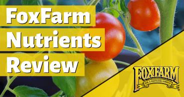 foxfarm nutrients review