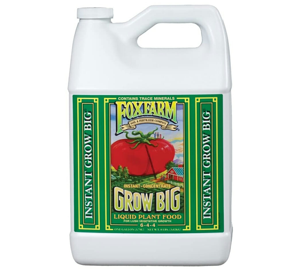 fox farm grow big liquid fertilizer