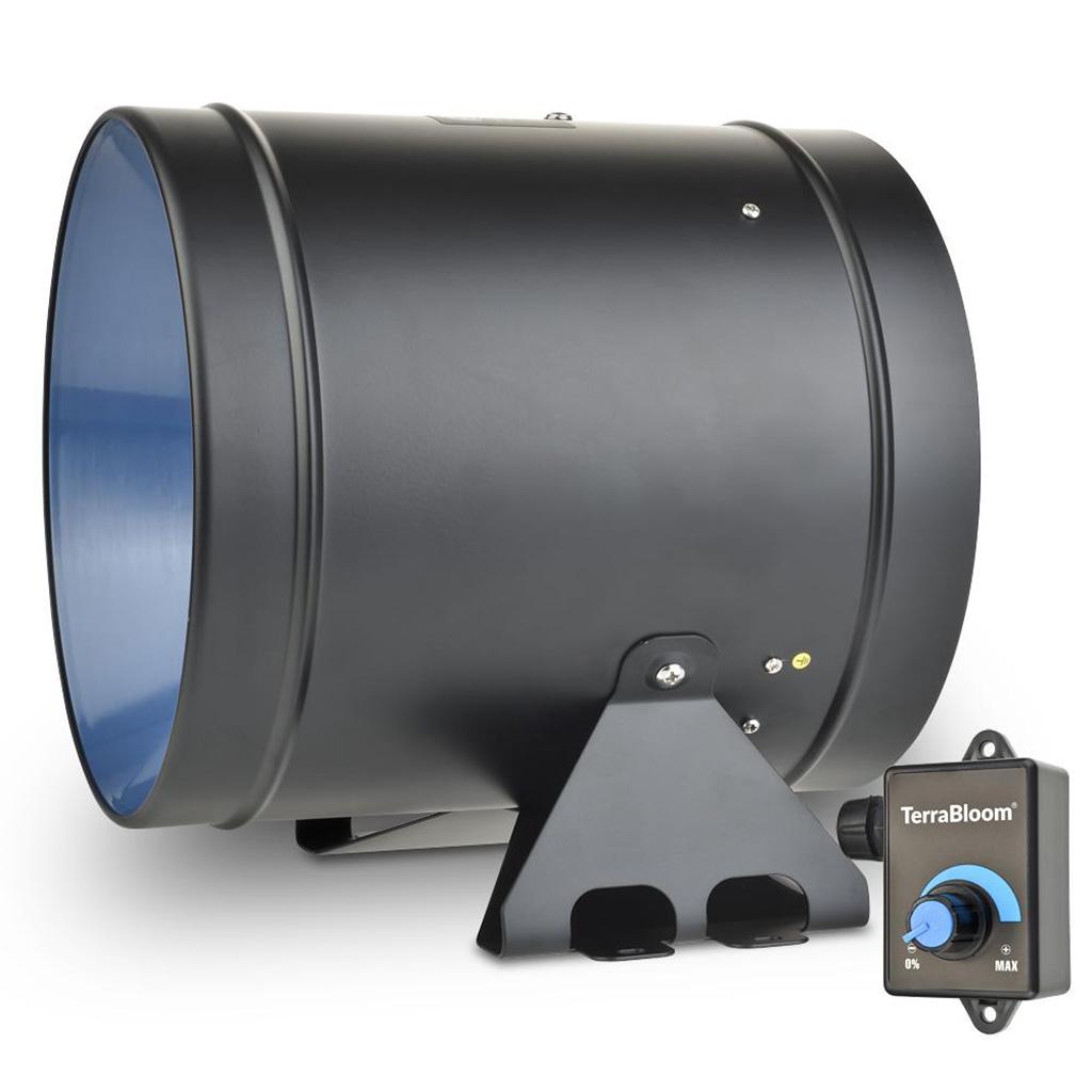 TerraBloom 8-inch inline fan