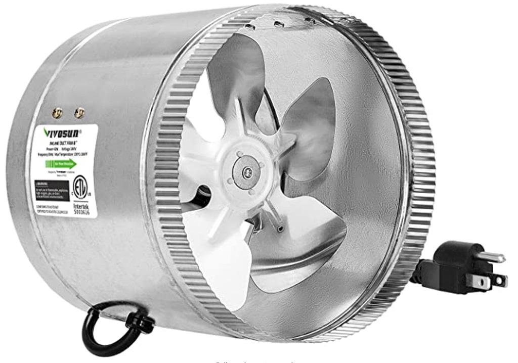 vivosun 8 inch inline fan
