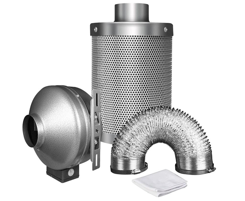 iPower 4-Inch 190 CFM Duct Inline Fan