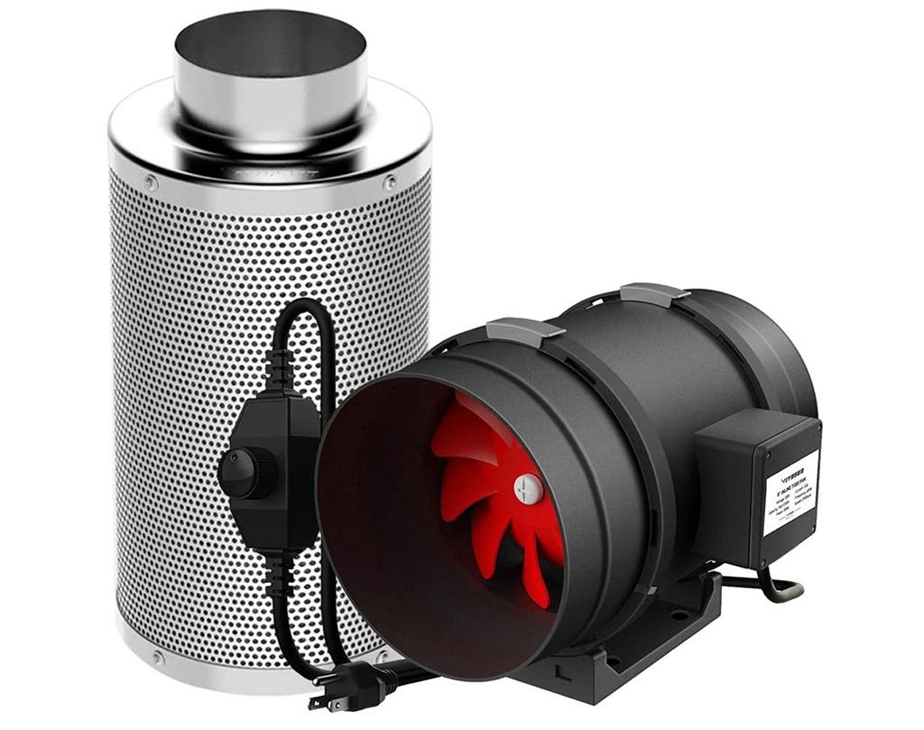 VIVOSUN 8-Inch 720 CFM Inline Duct Fan