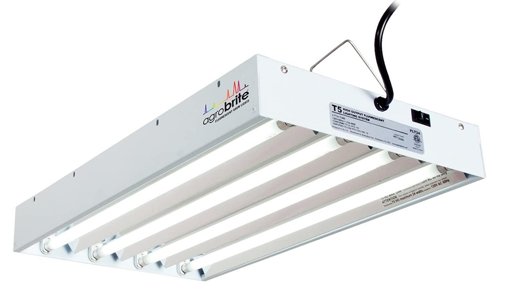 hydrofarm agrobrite 6400k t5 grow lights