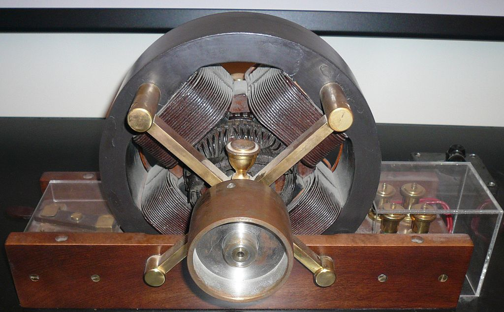 tesla ac induction motor